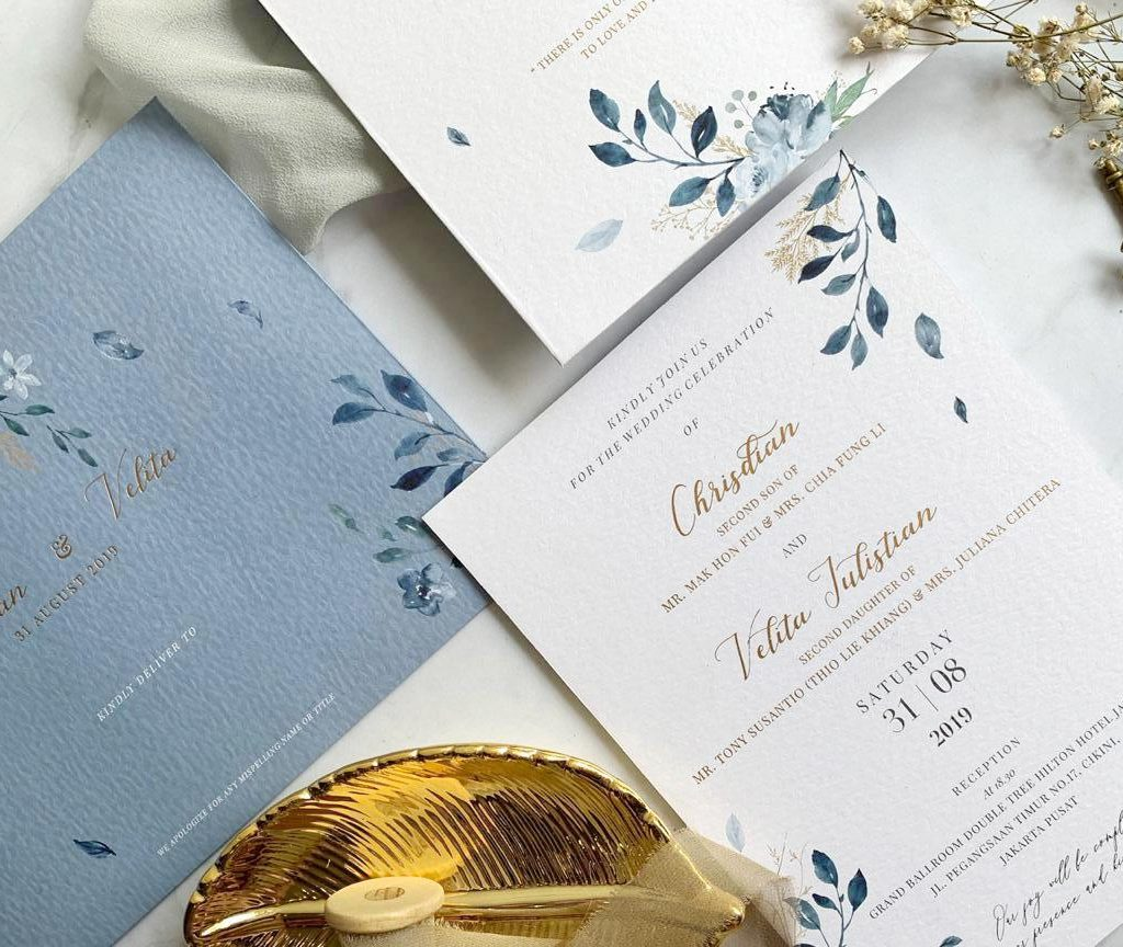 Printing Details Trouvaille Invitations