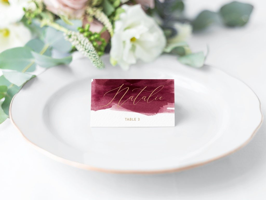 Place Cards 3 (Medium)